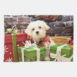 Christmas - Maltese - Flash Kitchen Towels
