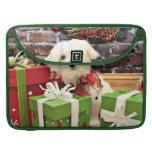 Christmas - Maltese - Flash MacBook Pro Sleeves