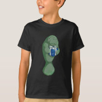 Christmas Manatee T-Shirt