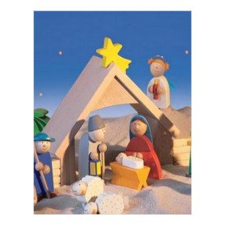 Christmas Manger Scene Flyer
