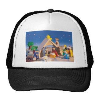 Christmas Manger Scene Trucker Hats