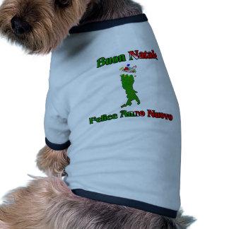 Christmas Map Toys Pet Shirt
