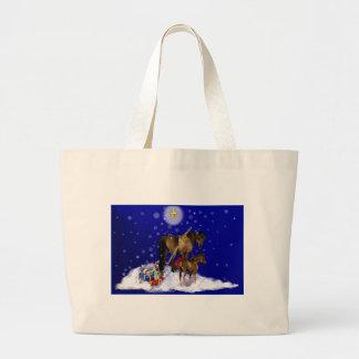 Christmas Mare and Colt Bag