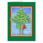 Christmas Marker Greeting Card