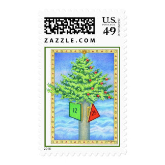 Christmas Marker Postage