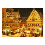 Christmas Market Germany Greeting Card
