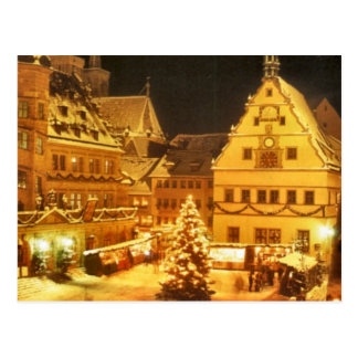 Christmas Market Germany Postcard