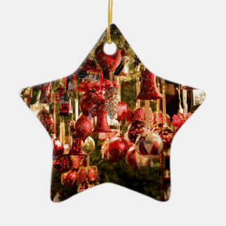 Christmas Market Hanging Baubles Nuremberg Ceramic Ornament