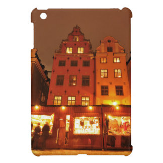 Christmas market in Stockholm, Sweden Cover For The iPad Mini