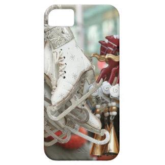 Christmas Market Shopping Festive Scene iPhone SE/5/5s Case