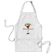 Christmas Martini Adult Apron