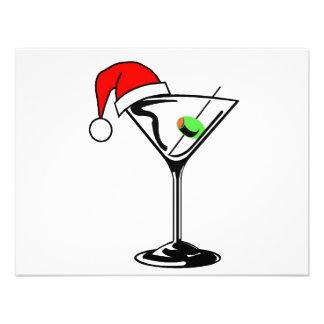 Christmas Martini Invitation