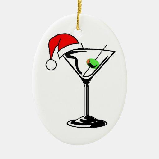 Martini Christmas Ornaments & Martini Ornament Designs ...