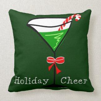Christmas Martini Pillow