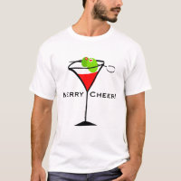 Christmas Martini T-shirt