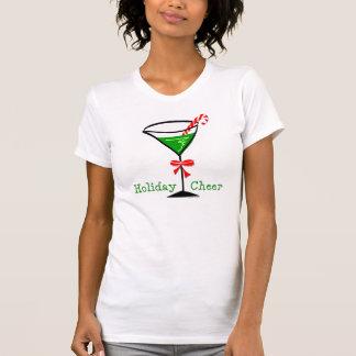 Christmas Martini Tee Shirt
