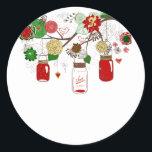 """Christmas Mason Jar Sticker<br><div class=""""desc"""">Christmas Mason Jar Sticker</div>"""