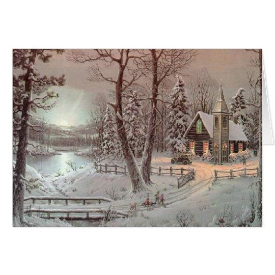 Christmas Mass Card