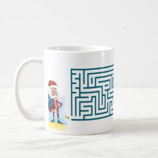 Christmas Maze Coffee Mugs