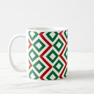 Christmas Meander Coffee Mug