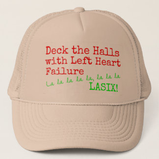 "Christmas Medical Humor ""Deck the Halls"" Trucker Hat"