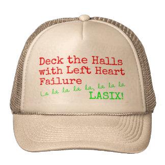 "Christmas Medical Humor ""Deck the Halls"" Trucker Hat"