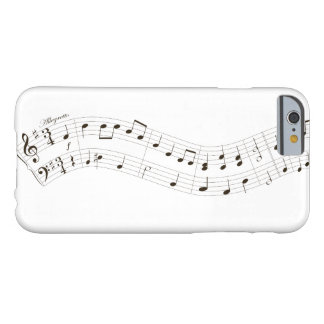 Christmas melody barely there iPhone 6 case