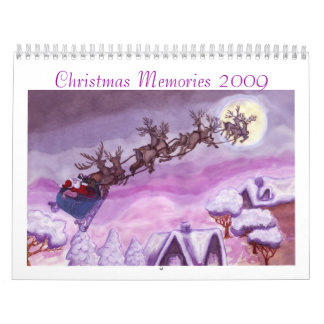 Christmas Memories 2009 Scrapbook Calendar