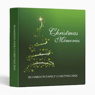 Christmas Memories 3 Ring Binder