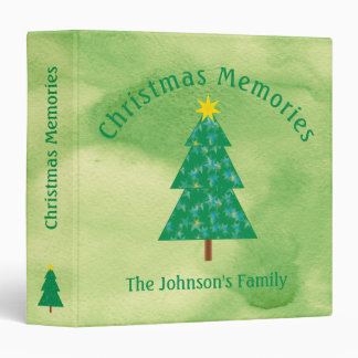 Christmas Memories |  Cool Gifts 3 Ring Binder