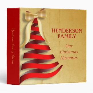Christmas Memories Photo Album 3 Ring Binder