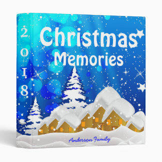 Christmas Memories Photo Album Binder