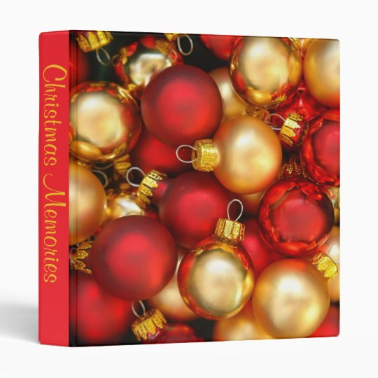 Christmas Memories Photo Album Binder