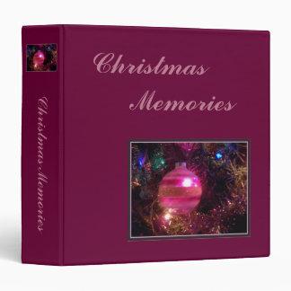 'Christmas Memories' Photo Album/Scrapbook Binder