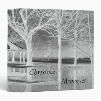 Christmas Memories Scrapbook 3 Ring Binder