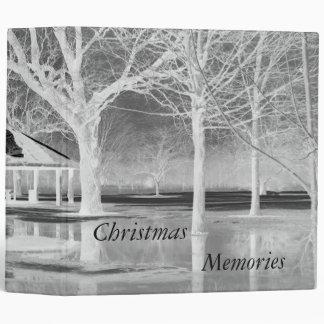 Christmas Memories Scrapbook Binder