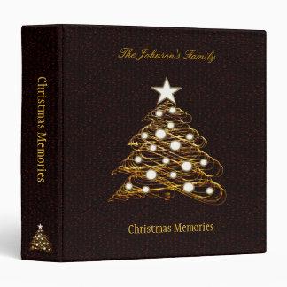 Christmas Memories | Stylish Christmas Tree Binder