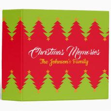 Christmas Memories   The Johnson's Family Binder