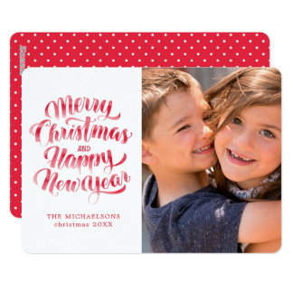 Christmas | Merry Christmas & Happy New Year Card