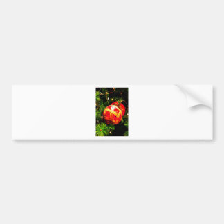 Christmas Merry Holiday Tree Ornaments celebration Bumper Stickers