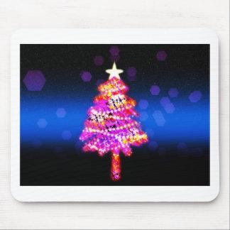 Christmas Merry Holiday Tree Ornaments celebration Mousepad