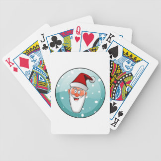Christmas Merry Holiday Tree Ornaments celebration Playing Cards