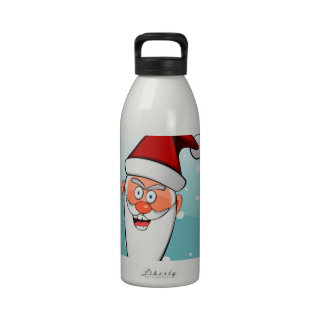 Christmas Merry Holiday Tree Ornaments celebration Reusable Water Bottles