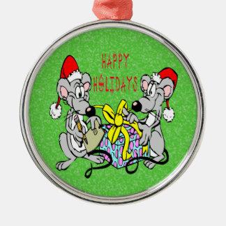 Christmas Mice Christmas Ornament