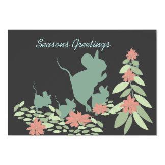 Christmas Mice Groupon Card