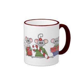 Christmas Mice Mugs