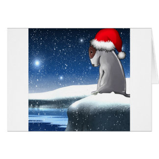 Christmas Milo (The Bull Terrier Puppy) Card
