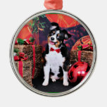 Christmas - Mini Aussie - Jack Ornaments