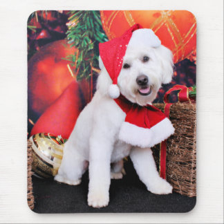 Christmas - Mini Doodle - Winston Mousepad