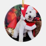 Christmas - Mini Doodle - Winston Christmas Ornaments